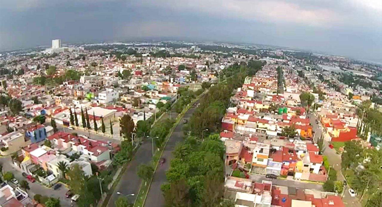 La localidad de Cuatitlán Izcalli donde ocurrió el trágico hecho