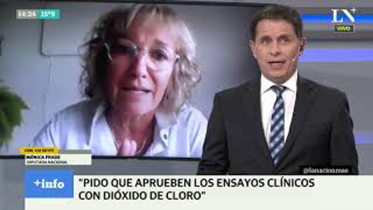 La diputada Frade protagonizó un escándalo al recomendar el consumo del dióxido de cloro
