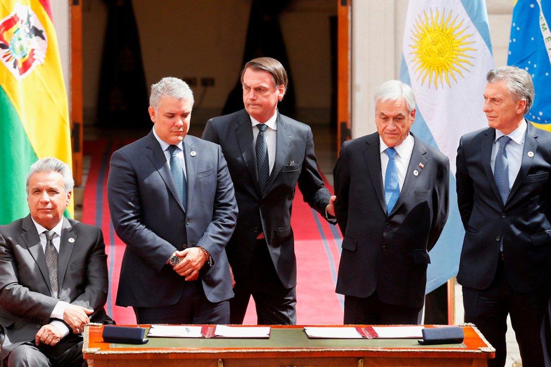 Durante el gobierno de Macri Argentina tuvo una alta participación en el Grupo Lima